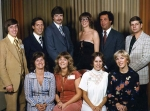 This photo of the reunion committee was taken at the Radisson Mart.  Front row: Peggy Cannon Kanofsky, Nickie Lyneis Win
