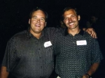 Eric Locken and Greg Lehan at the 30th Reunion. We had a good turn out, it was more than Eric and Greg, this is the only