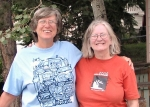Aug 14, 2007 -PreReunion of Sally Horak and Cheryl Soshnik in Park City, UT as Sally and hubby Tom are heading to the 40