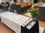 There were 82 Name Badges – one to representing each classmate. Some died shortly after high school graduation, and som